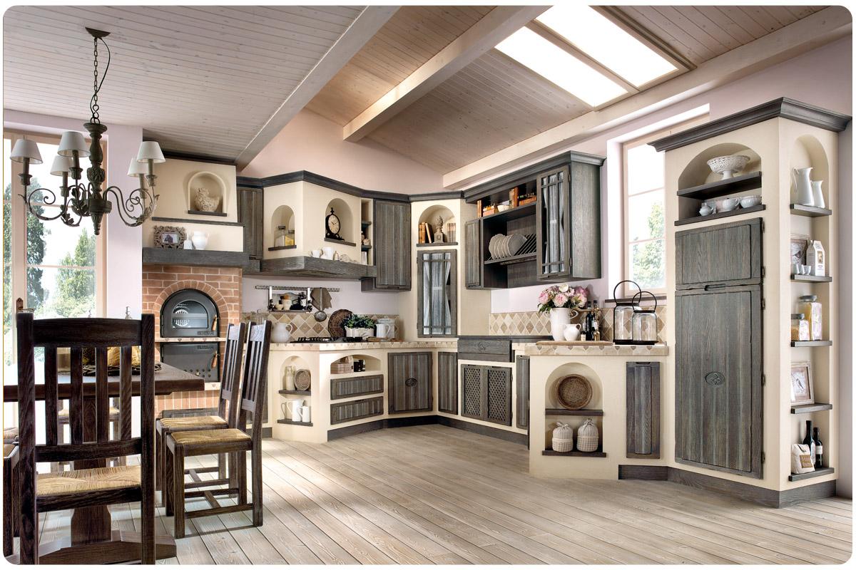 Borgo antico dfg arredamenti - Cucine classiche in muratura ...